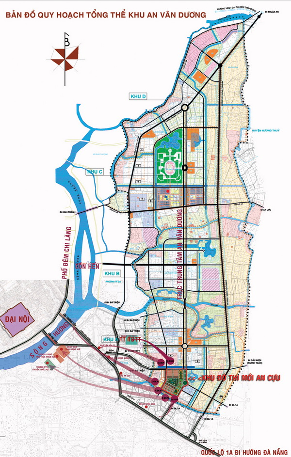 avdmoiresize Tổng quan và quy mô khu đô thị An Vân Dương