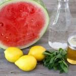 Bị say nắng   Nước dưa hấu là thức uống số 1